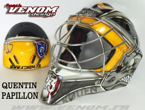 casque-france-saxoprint_magnus_decoration_peinture_masque_gardien_hockey_glace_design_venom__gardien_goalie-quentin-papillon-dragons-rouen-personnalisation-ccm-bauer-matthieu_merlin